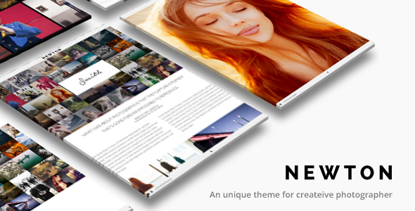 Photography WordPress | Newton Theme for Photography - Photography Creative