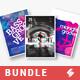 Groove Trilogy - Party Flyer / Poster Templates Bundle