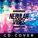 Nebula Vibes - Cd Artwork - GraphicRiver Item for Sale