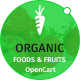 Organic Food and Fruits is modern OpenCart Theme