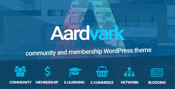 Image of Aardvark - BuddyPress, Membership & Community Theme