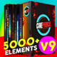 5000+ Pack CINEPUNCH Video Creator Mega Suite - VideoHive Item for Sale