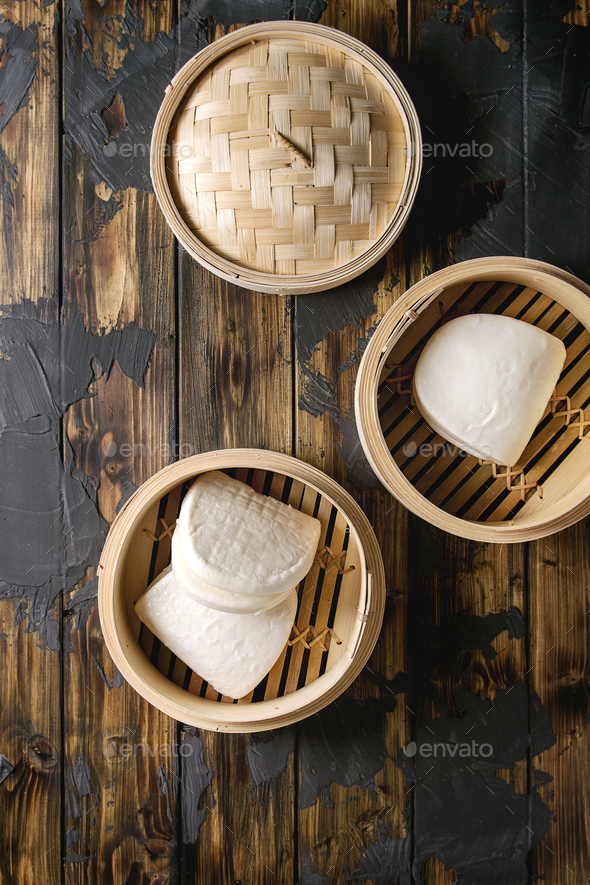 Gua bao buns - Stock Photo - Images