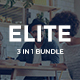 3 in 1 Elite Bundle Keynote Template - GraphicRiver Item for Sale