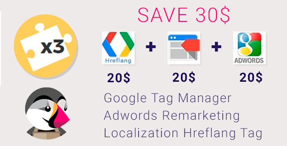 Google Tag Manager, Adwords Remarketing and Hreflang            Nulled