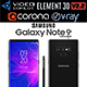 Samsung Galaxy Note 9 Black - 3DOcean Item for Sale