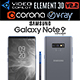 Samsung Galaxy Note 9 Gray - 3DOcean Item for Sale