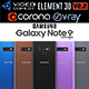 Samsung Galaxy Note 9 All colors - 3DOcean Item for Sale