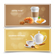 Breakfast Realistic Banners - GraphicRiver Item for Sale