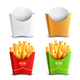 French fries 2x2 Design Concept - GraphicRiver Item for Sale