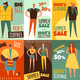 Life Cycles Man Woman Cards - GraphicRiver Item for Sale