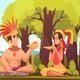 Maya Family Background