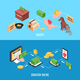 Charity Isometric Banners - GraphicRiver Item for Sale