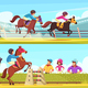 Equestrian Horizontal Banners Set