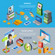 Banking Horizontal Banners Set - GraphicRiver Item for Sale