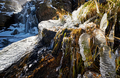 Icicles on Timberline Falls waterfall - PhotoDune Item for Sale