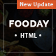 Fooday -  Restaurant HTML Template - ThemeForest Item for Sale