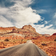 Retro toned picturesque road. - PhotoDune Item for Sale