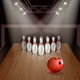 Bowling 3D Illustration - GraphicRiver Item for Sale
