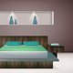 Bedroom Interior Realistic - GraphicRiver Item for Sale