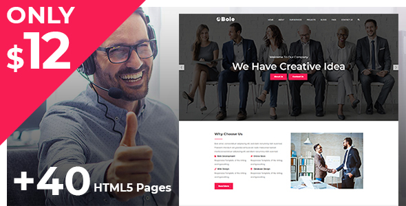 Image of Bole - Creative Digital Agency & Multipurpose Template
