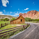 Old barn by a road. - PhotoDune Item for Sale
