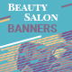Beauty Salon Web Banners - GraphicRiver Item for Sale