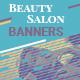 Beauty Salon Web Banners