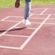 Girl Playing Hopscotch - VideoHive Item for Sale