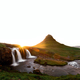 Colorful sunrise on Kirkjufellsfoss waterfall - PhotoDune Item for Sale