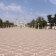 Tourists People Walking on Square Habib Bourguiba in Monastir City Tunisia - VideoHive Item for Sale