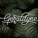 Geraldyne Script - GraphicRiver Item for Sale