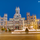 Plaza de Cibeles in Madrid with the Palace of Communication - PhotoDune Item for Sale