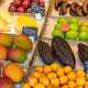 Tropical fruits for sale at a market  - PhotoDune Item for Sale