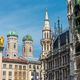 Detailed view of the architecture at the Marienplatz - PhotoDune Item for Sale
