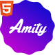 Multipurpose HTML5 Bootstrap Landing Page Pack — Amity - ThemeForest Item for Sale