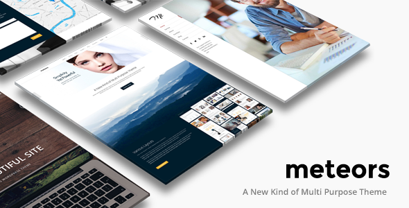 Business Multi Purpose | Meteors Theme
