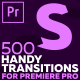 Handy Transitions For Premiere Pro - VideoHive Item for Sale