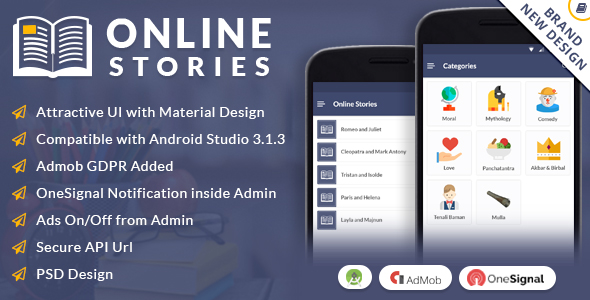 Online Stories - CodeCanyon Item for Sale