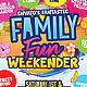 Family Fun Day Flyer Template - GraphicRiver Item for Sale