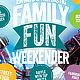 Family Fun Weekender Flyer Template