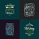 Typography Badges And Labels Vol.15
