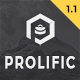 Prolific - One Page Parallax - ThemeForest Item for Sale