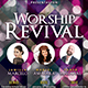 Worship Revival Church Flyer - GraphicRiver Item for Sale