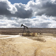 Oil pumping equipment. Ayoluengo petroleum field. Burgos, Spain. Energy production - PhotoDune Item for Sale