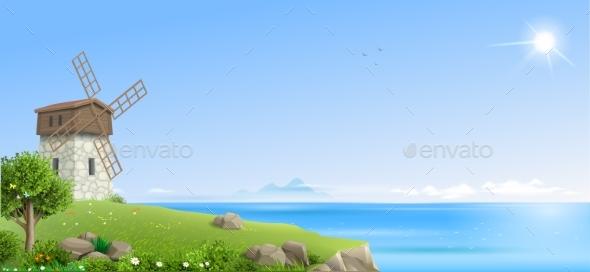 Banner Natural Fantasy Landscape - Landscapes Nature
