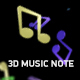 3D Music Note - VideoHive Item for Sale