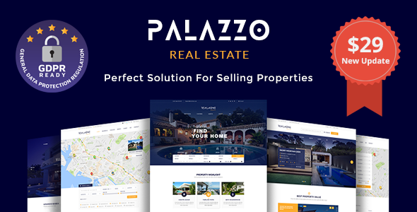 Image of Palazzo - Real Estate WordPress Theme