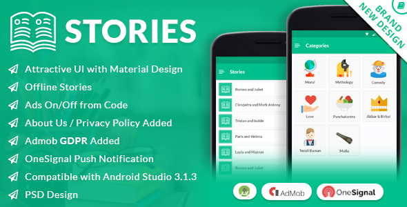 Stories - CodeCanyon Item for Sale