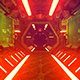 Technological Corridor Of The Spaceship - VideoHive Item for Sale